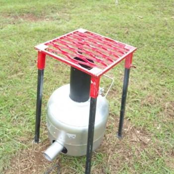 Biochar stove and grill