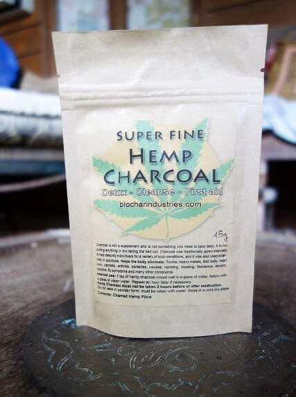 Hemp Biochar 15g
