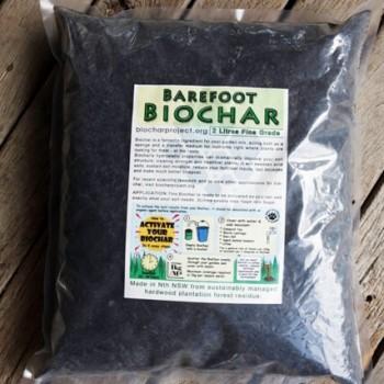 2l Barefoot Biochar
