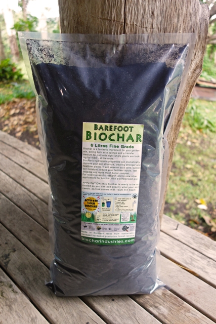 Biochar Industries 6l biochar